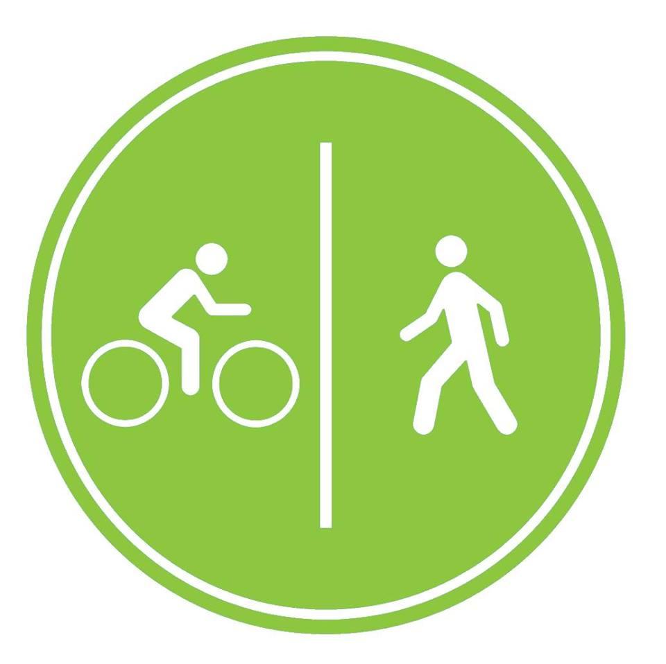 Walking biking icon