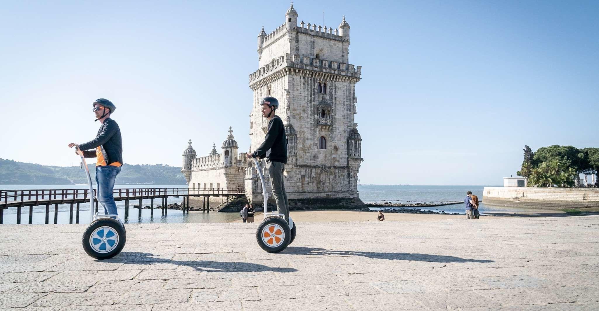 Lisbon: Age of Discoveries Belém Segway Tour