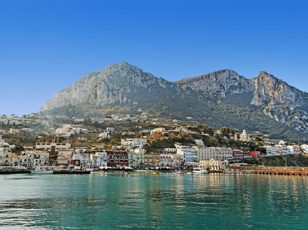 Capri Island from Naples by High Speed Ferry with Optional Blue Grotto
