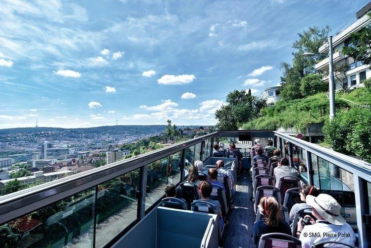 24-hour Stuttgart hop-on hop-off  bus tour - blue route