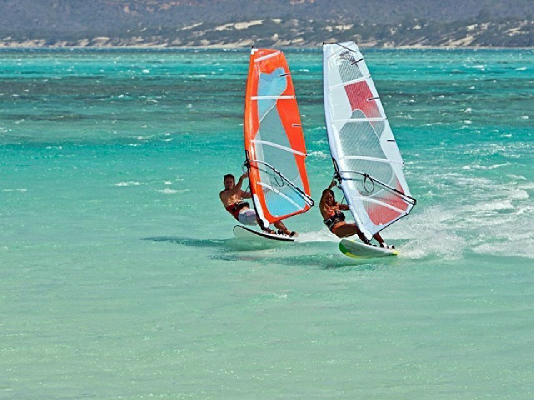 Beginner Wind Surfing School and Wind Surfing Rental in Miura