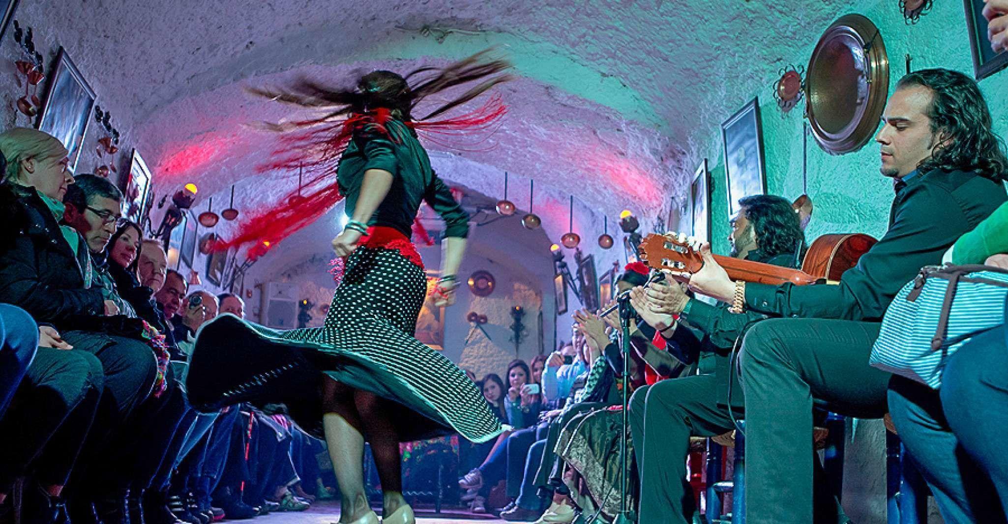Granada: Sacromonte Caves Flamenco Show with Dinner