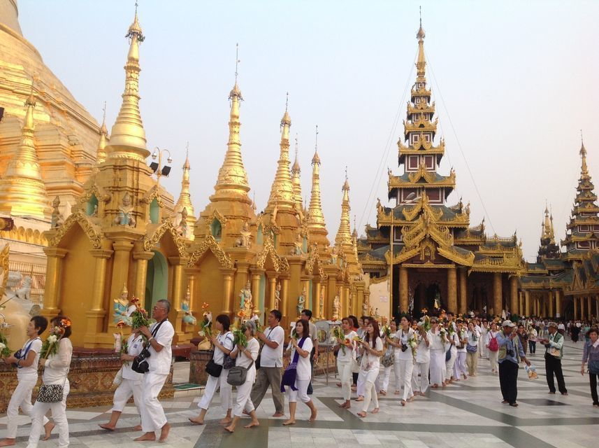 Tradition and Culture in Yangon Half-Day Tour