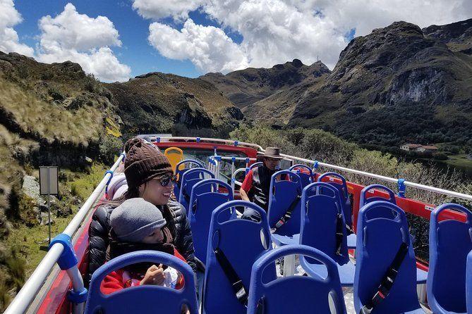 Parque Nacional Cajas Tour in Double Decker Bus