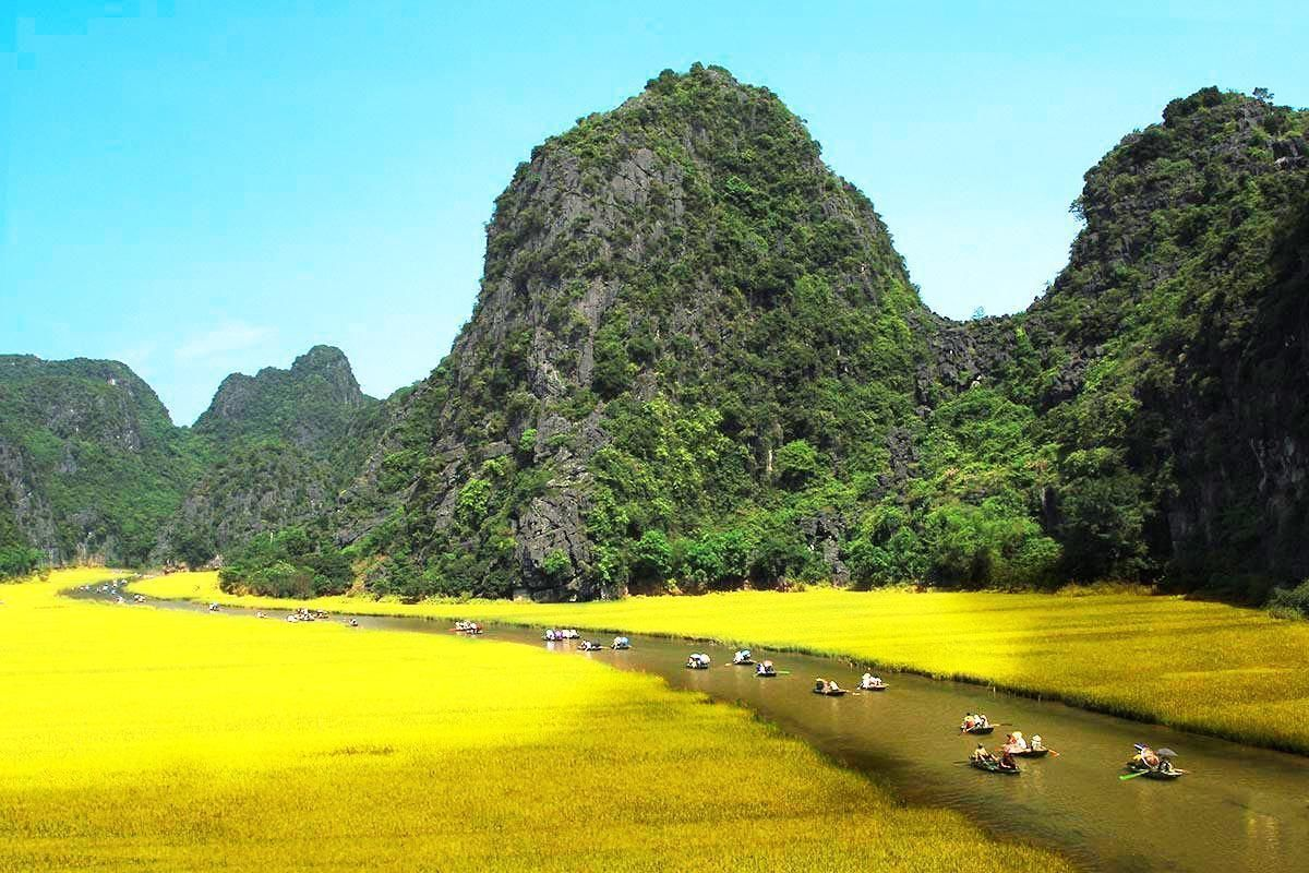 Ninh Binh Full Day Private Tour with Boat Ride in Tam Coc from Hanoi