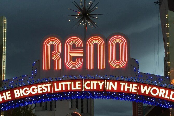 Private Self-Guided Audio Tour from Reno Arch to Truckee River