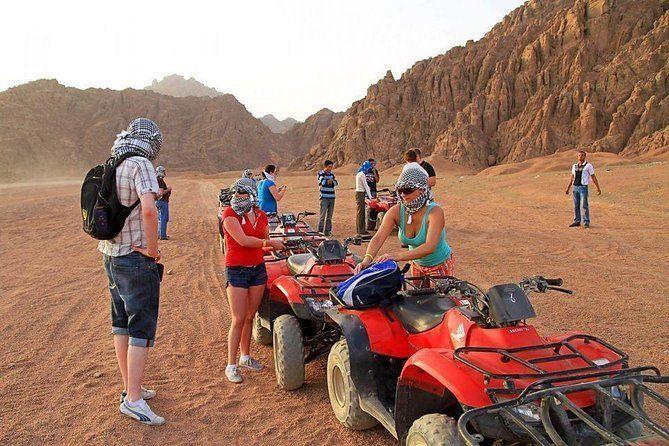 Morning Quad Bike Desert Safari excursion From Makadi