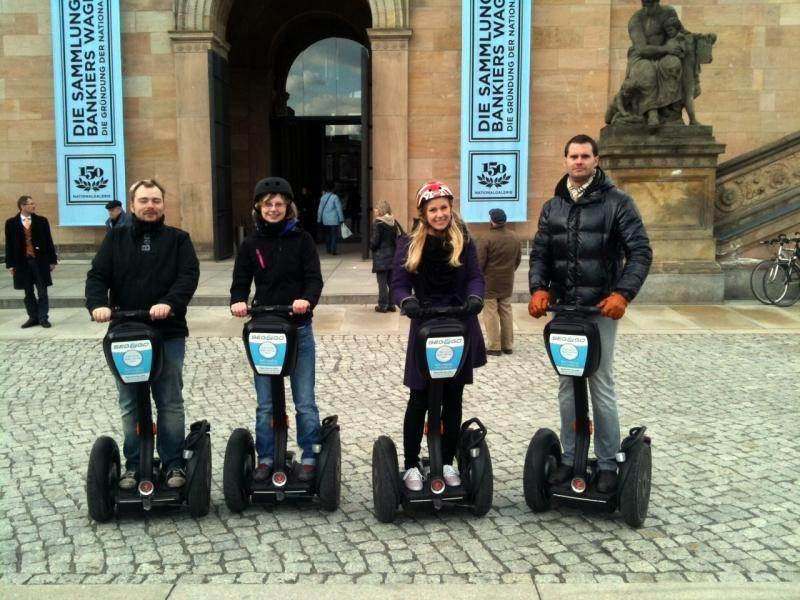 Segway-Tour: exploring the center of Berlin