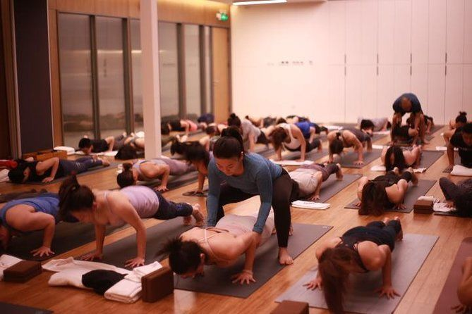 Yoga Class in Shanghai French Concession