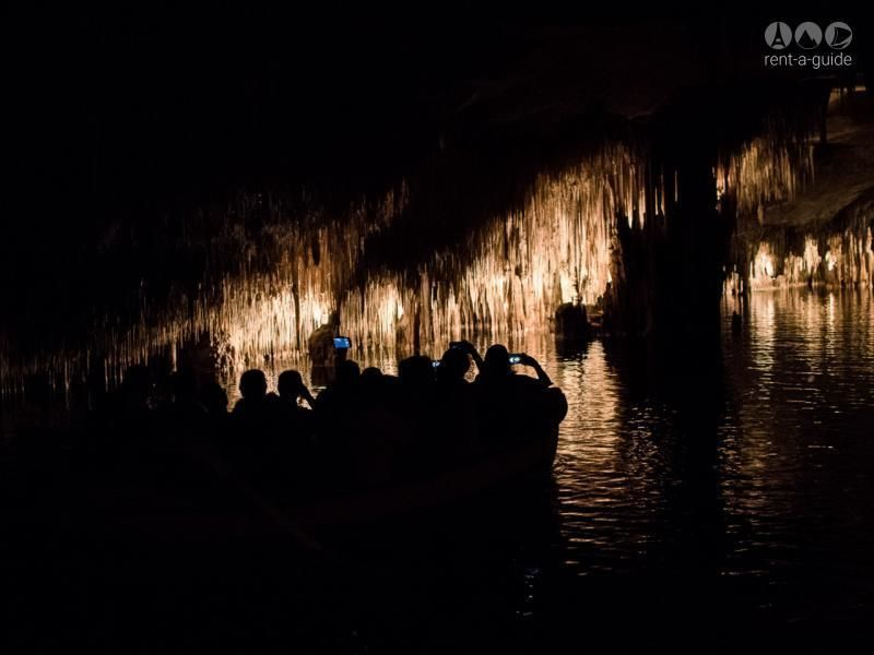 Half day excursion to the dragon caves in Mallorca