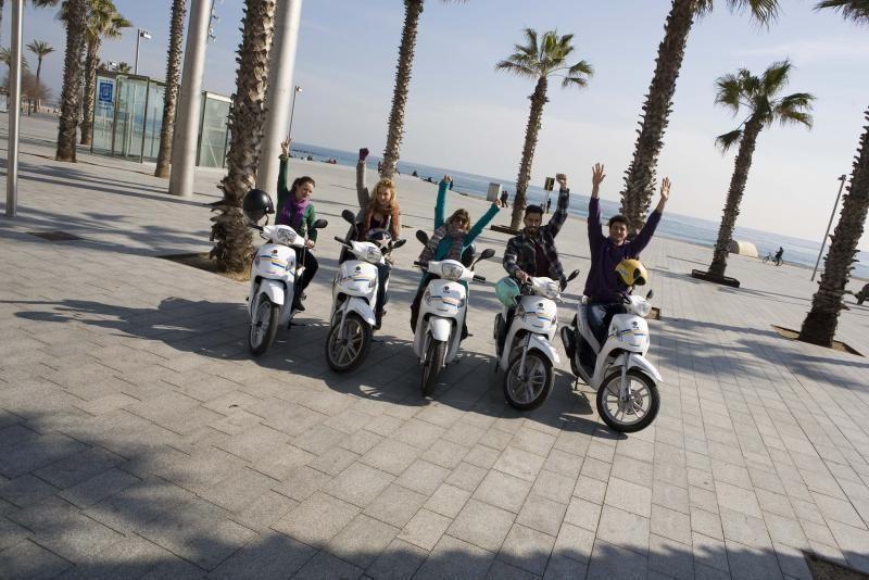 Barcelona 360º Panoramic Scooter City Tour