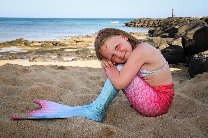 Mermaid Photo Shooting at the Beach - ONLY for CHILDREN