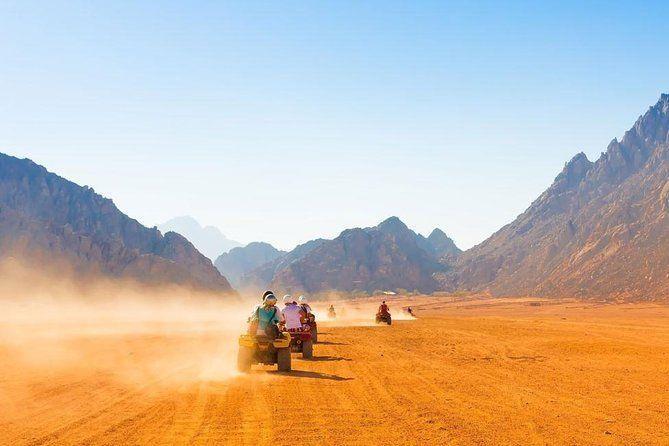 Sharm El Sheikh Safari -Quad Biking & ATV Tour with Camel Ride & Bedouin Dinner