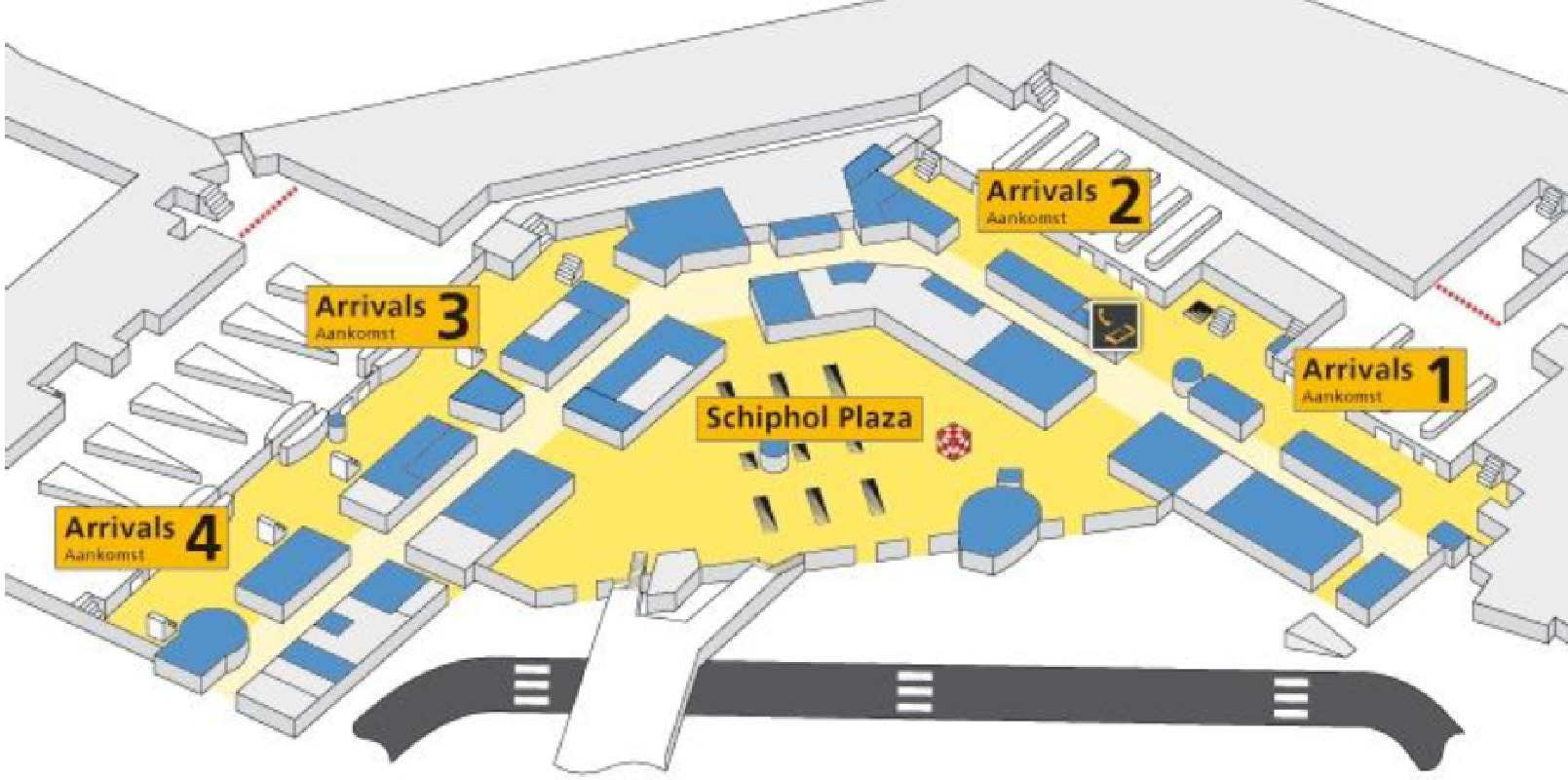 Shared Transfer between Amsterdam's Schiphol Airport and Hotel Accommodations