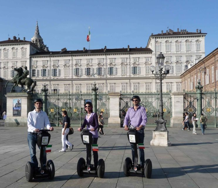 Turin: Green, River Po, Fast, or Full Segway Tours