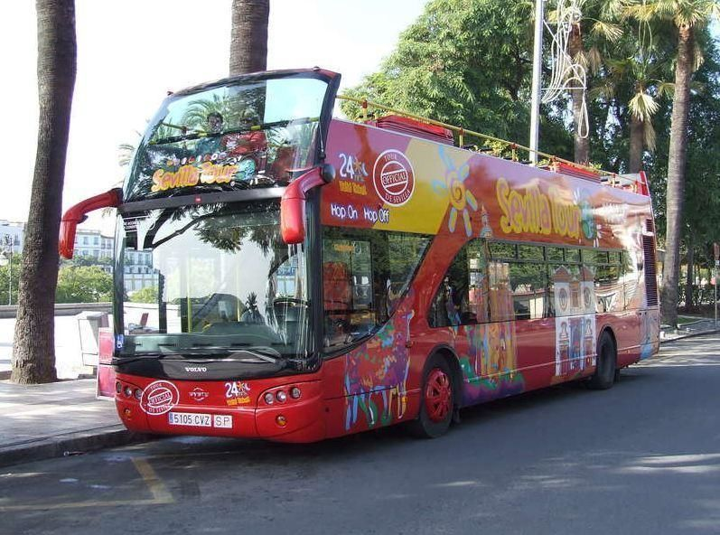 Seville City Sightseeing Tour Hop-On/Hop-Off – 24h ticket