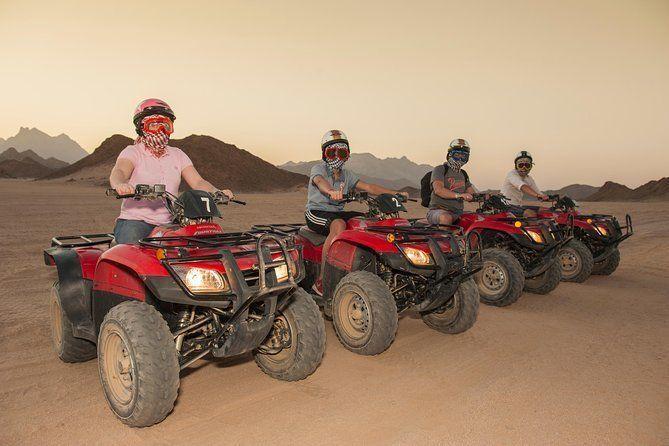 3 Hours Safari by Quad Bike & Camel Ride - Hurghada