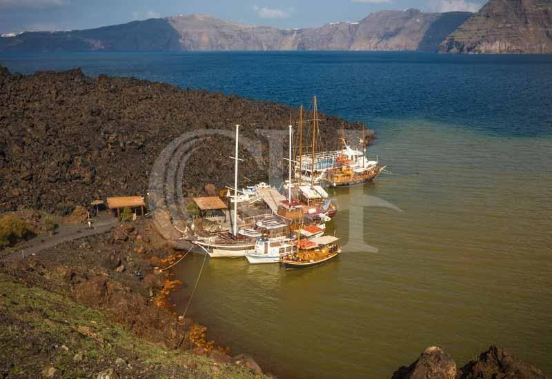 Santorini Boat Trip - Volcano, Hot Springs, Thirasia and Caldera Sunset
