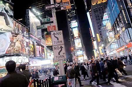 Evening city tour: The nightlife of New York