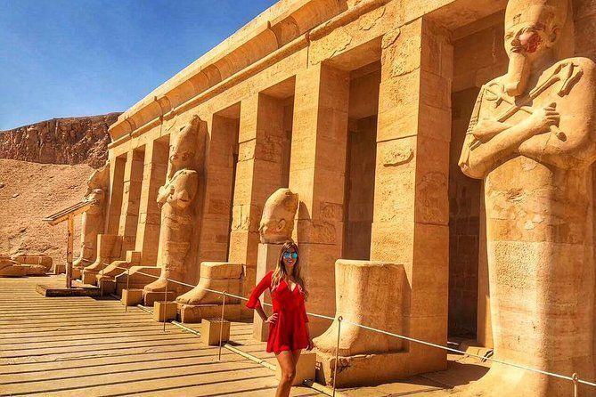 4-Hours tour West Luxor bank : Hatshepsut Temple and Valley of the King