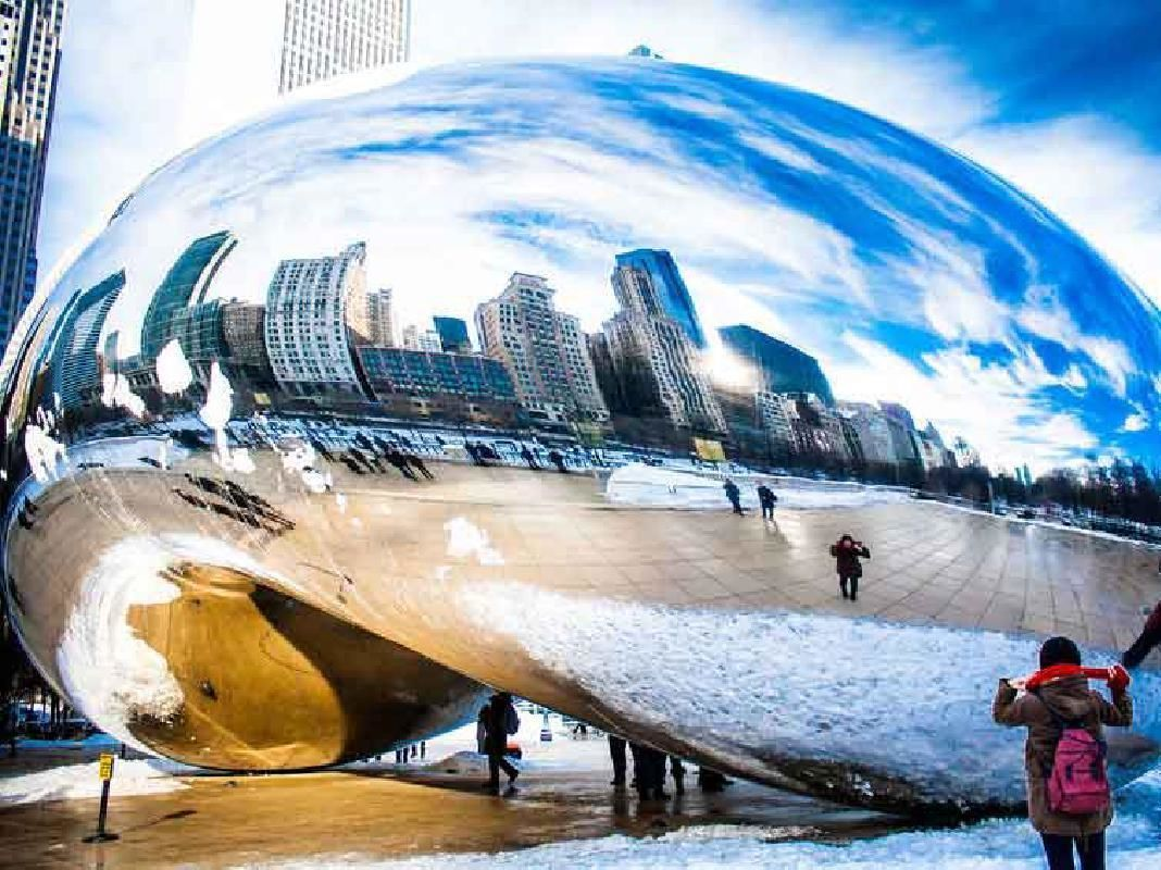City Highlights Sightseeing Tour & Chicago River Architecture Boat Cruise