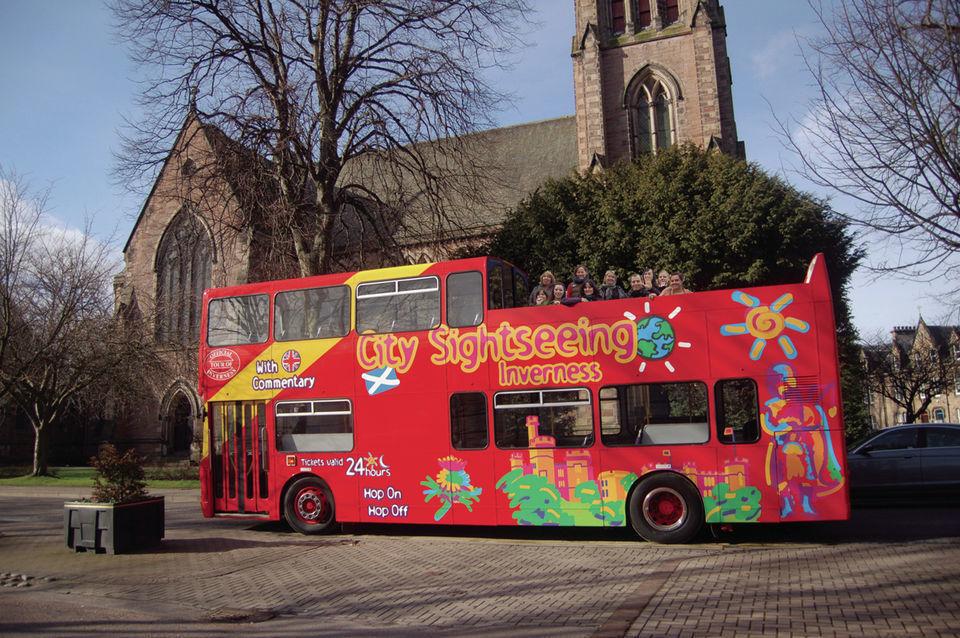 24 Hour Inverness Hop-On Hop-Off Tour