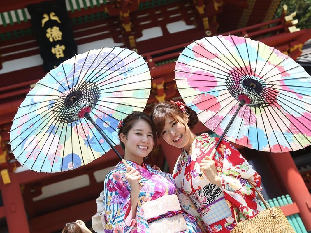 Kimono Rental and Dress Up in Kamakura
