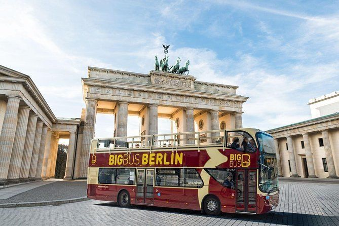 Big Bus Berlin Hop on Hop off tour with live guide