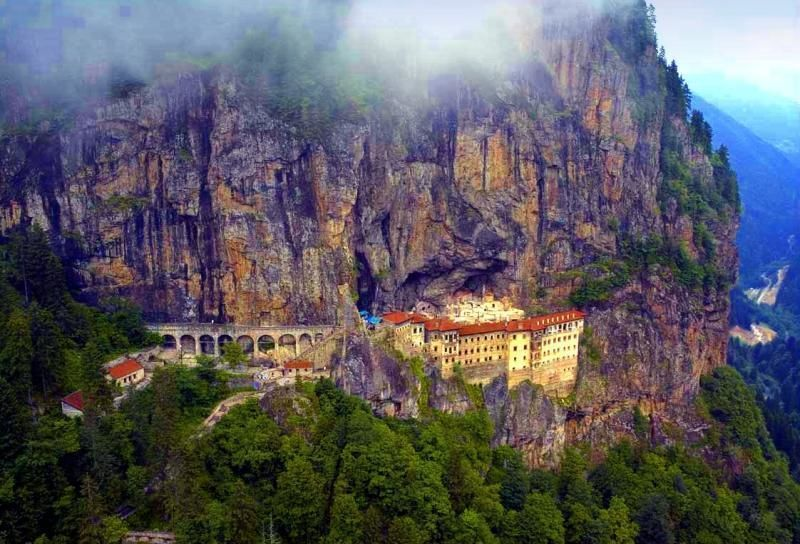 Day trip Trabzon and Sumela Monastery