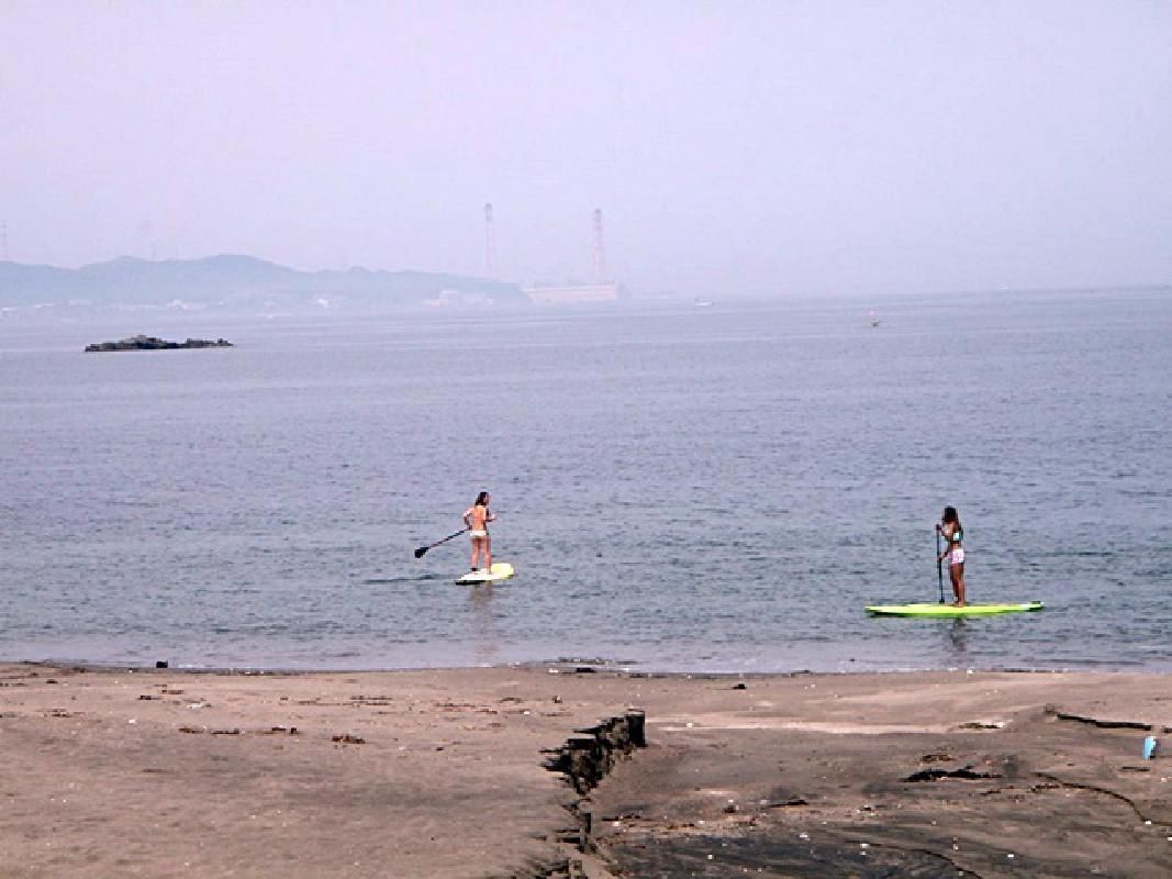 Half Day Stand Up Paddle Board School in Miura