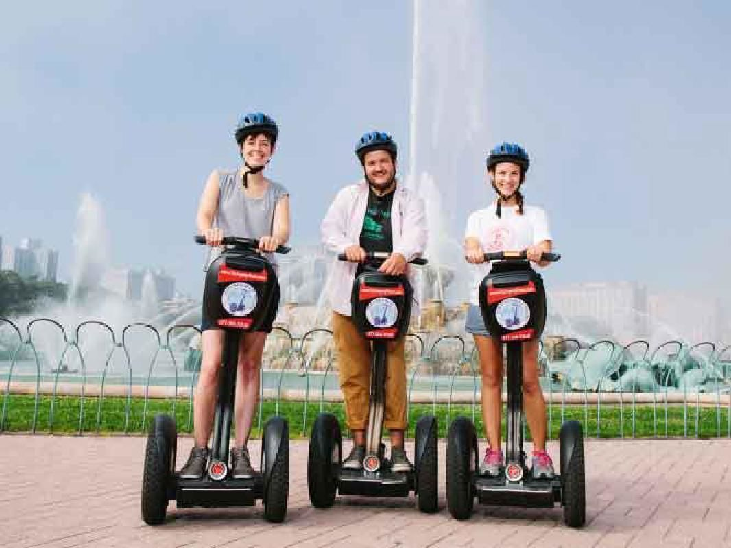 Half-Day Guided Sightseeing Segway Tour of Chicago