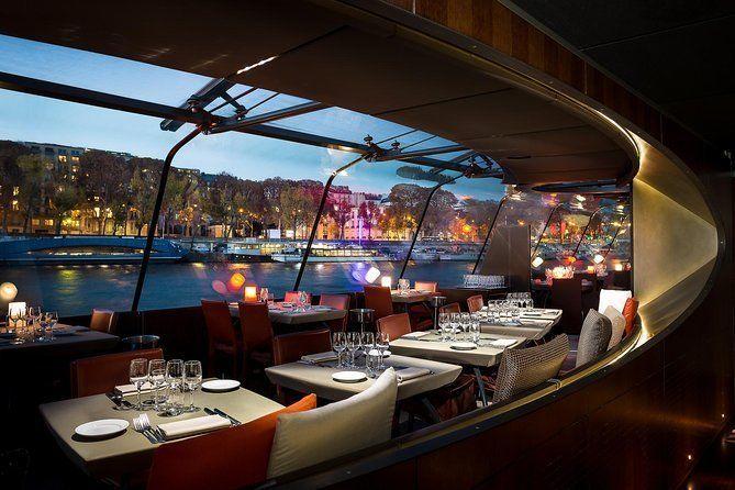 Bateaux Parisiens Seine River Gourmet Dinner & Sightseeing Cruise