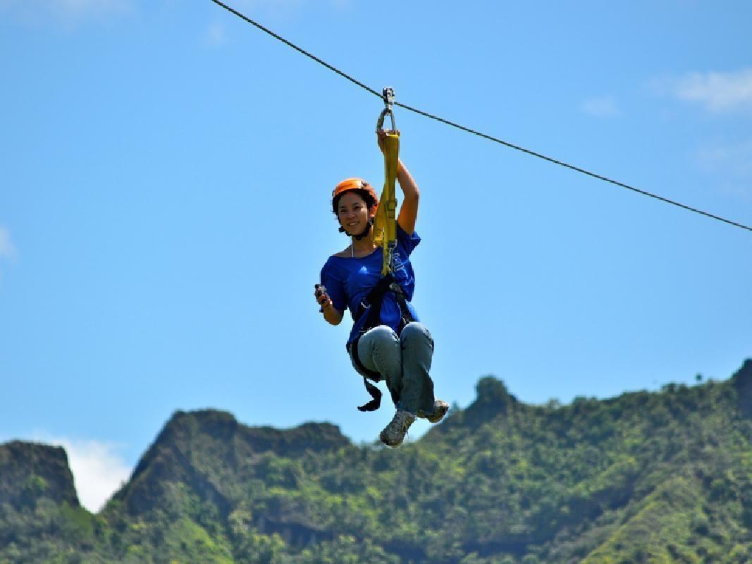 Just Live Zipline & Canopy Bridge Crossing Adventure (Lihue)