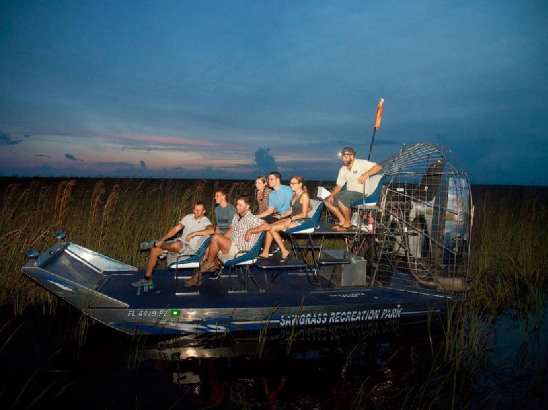 Everglades Evening Airboat Adventure & Sawgrass Recreation Park Tour