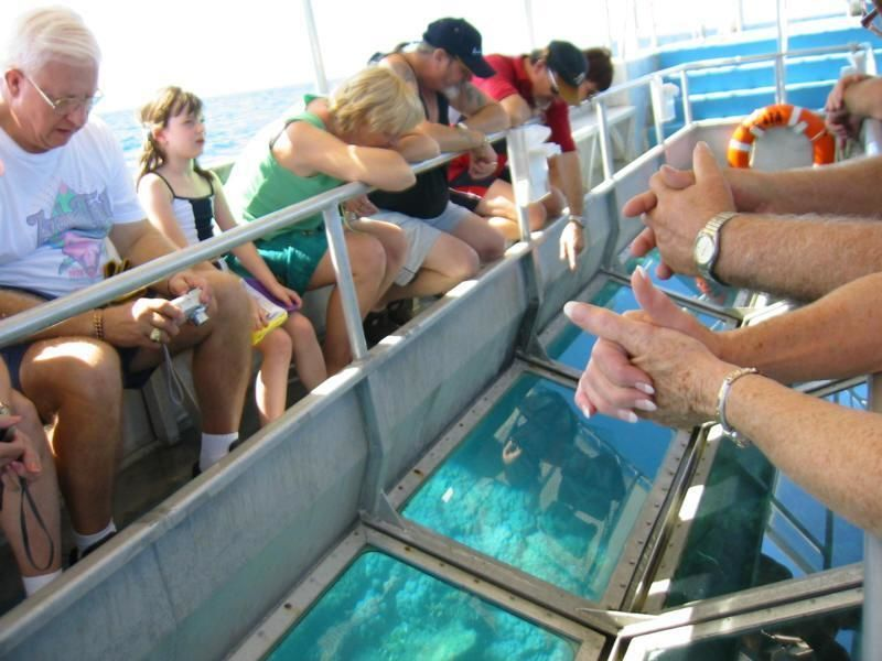 Two Hours Glass-Bottom-Boat excursion from Hurghada
