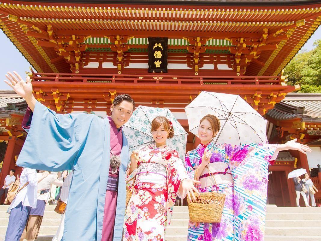 Kimono Rental and Dress Up in Kamakura