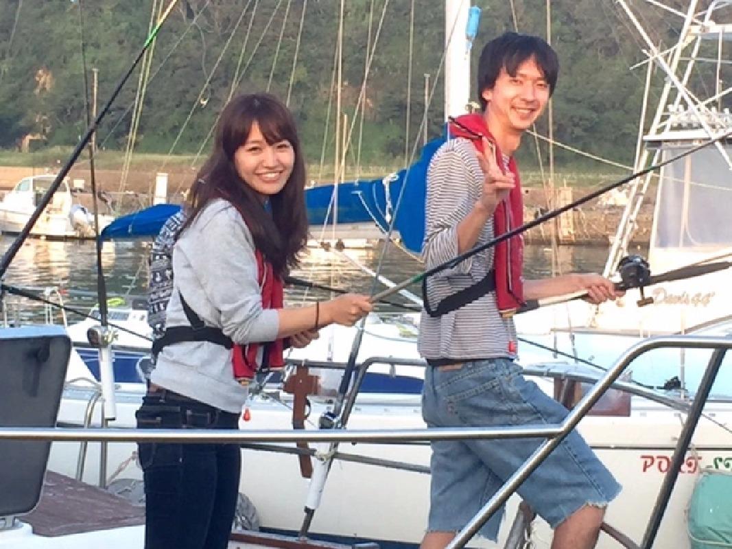 Full Day Fishing on a Bay Cruiser in Katsuura