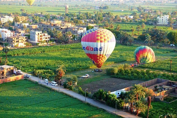 2 nights tours: luxor, Aswan,hot air balloon&abu simbel by plane from Cairo