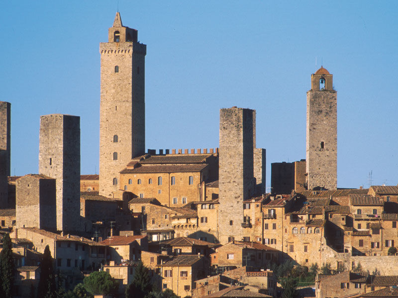 Siena, San Gimignano, Pisa with Lunch and Wine Tasting