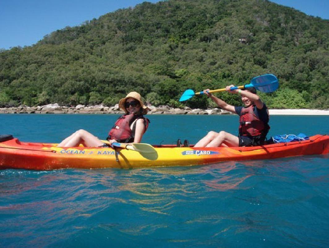 Fitzroy Island Sea Kayak Adventure with Snorkeling Experience