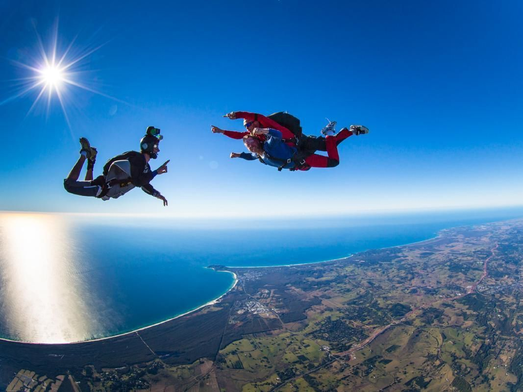 Great Ocean Road Tandem Skydiving Experience from Melbourne