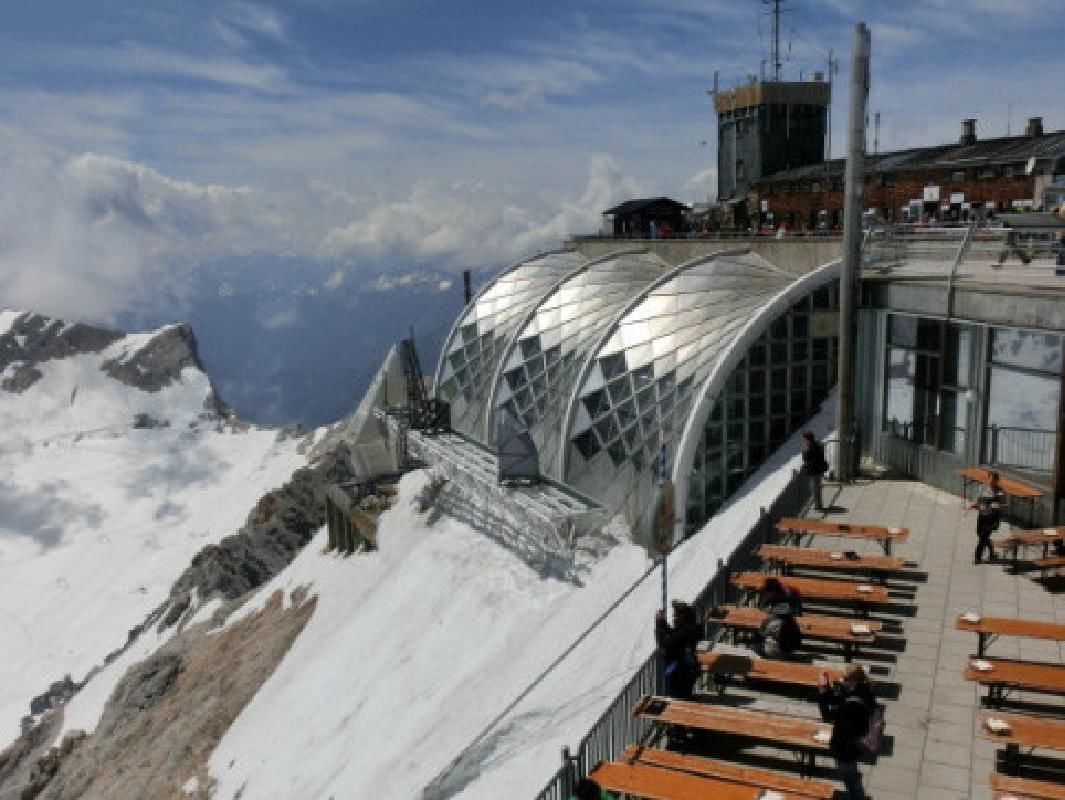 Zugspitze Mountain from Munich with Cable Car and Cogwheel Train Ride