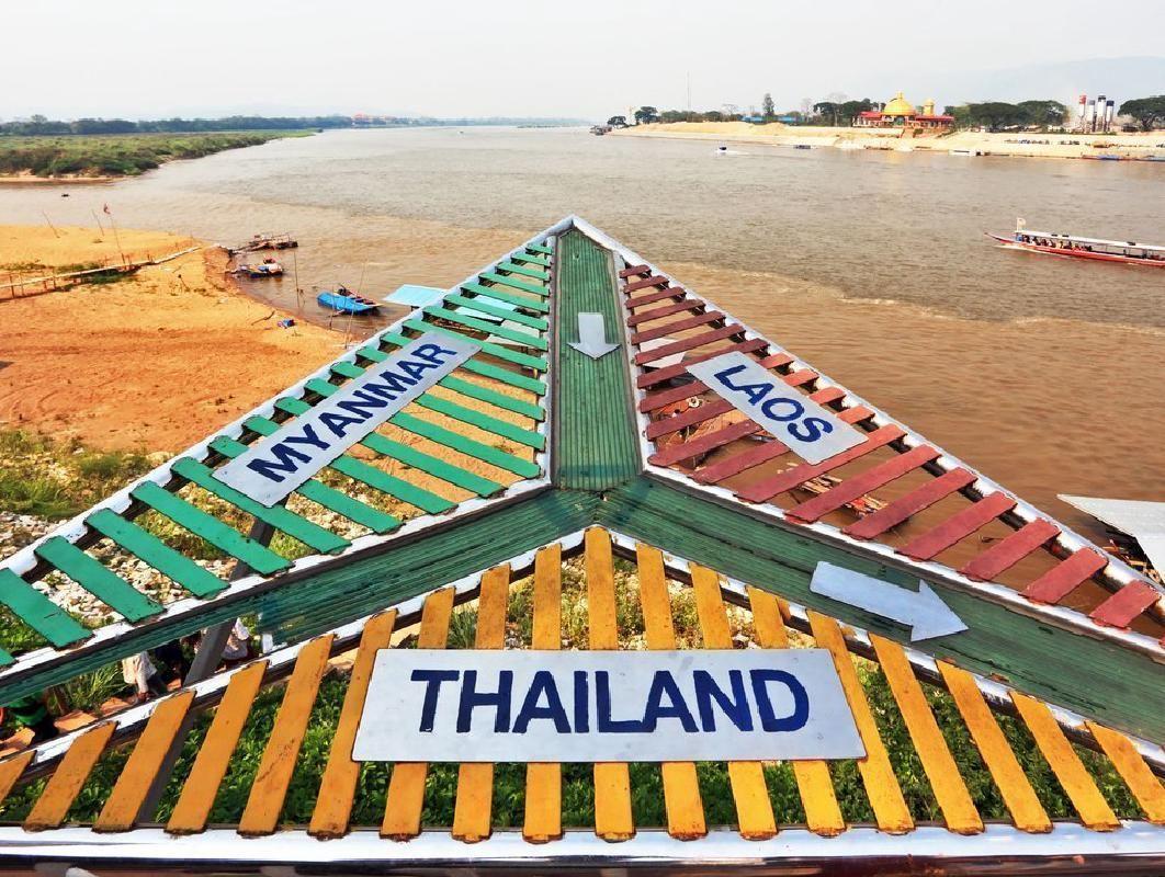 Mae Kok River Cruise, Karen Village and Golden Triangle Tour from Chiang Rai