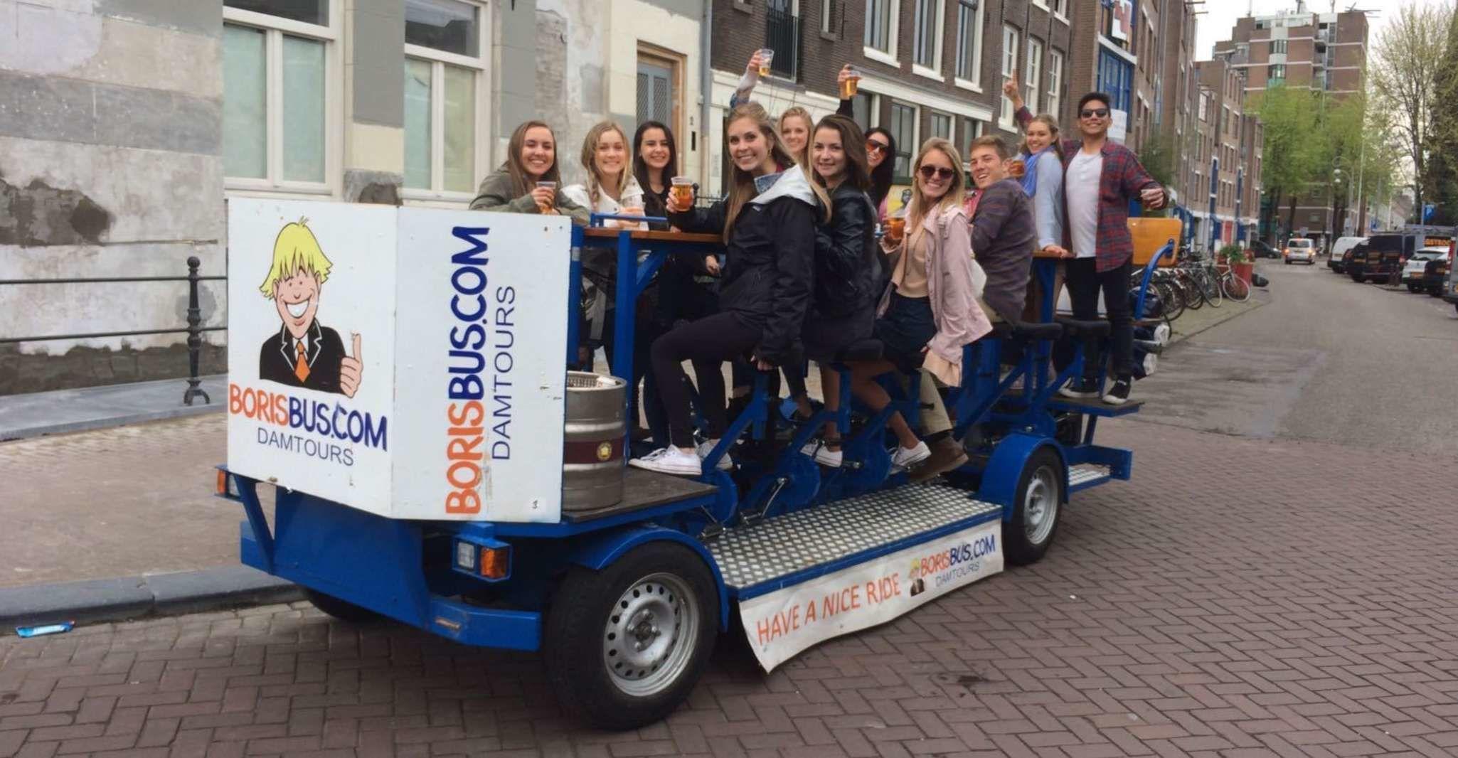 Amsterdam: Prosecco Biking Experience through the North