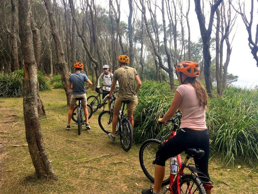 Half-Day Guided Cycle Tour in Murramarang