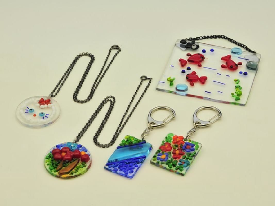 Half Day Personal Glass Accessory Making Workshop in Minakami