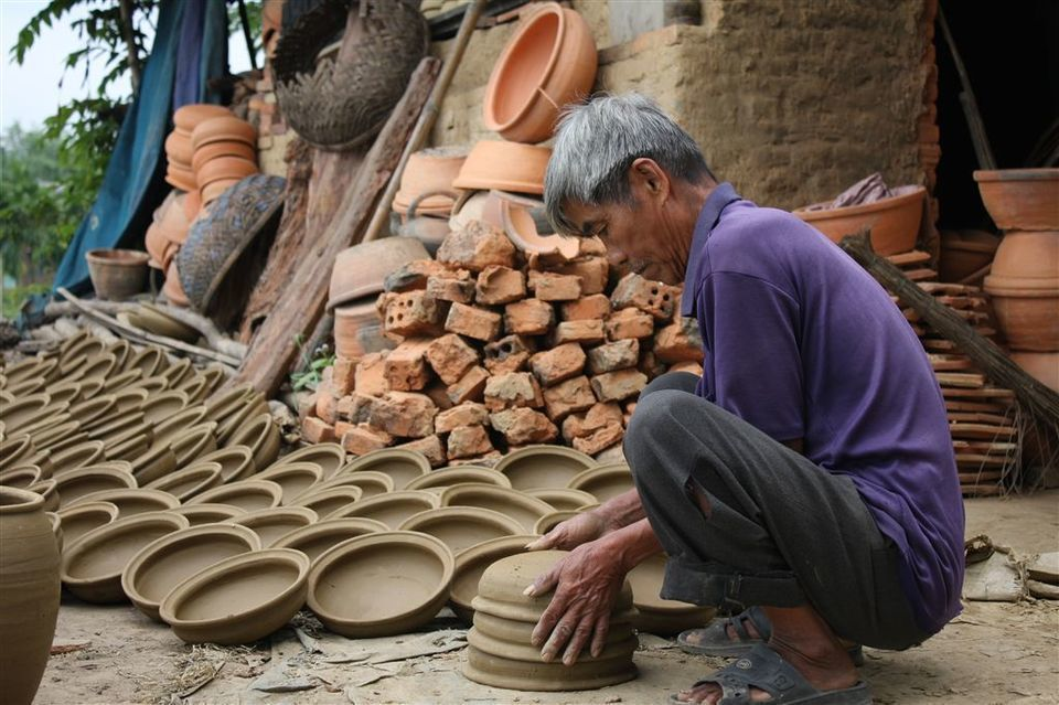 Hoi An:Kim Bong carpentry and Thanh Ha Pottery Villages