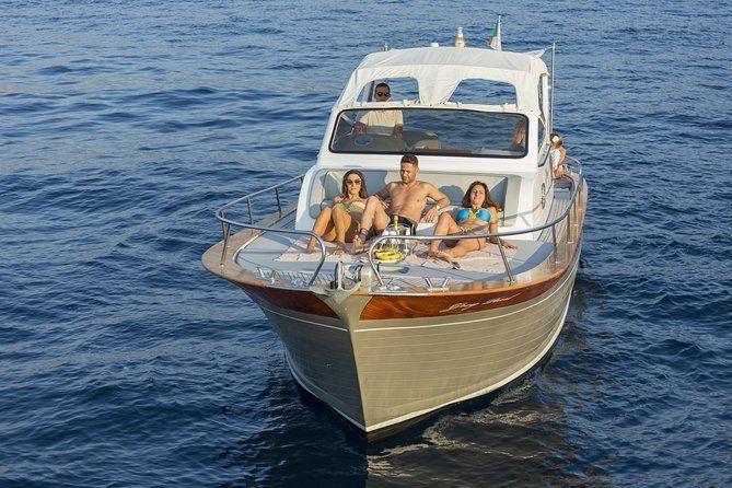 Capri Tour from Sorrento 30ft Classic Boat
