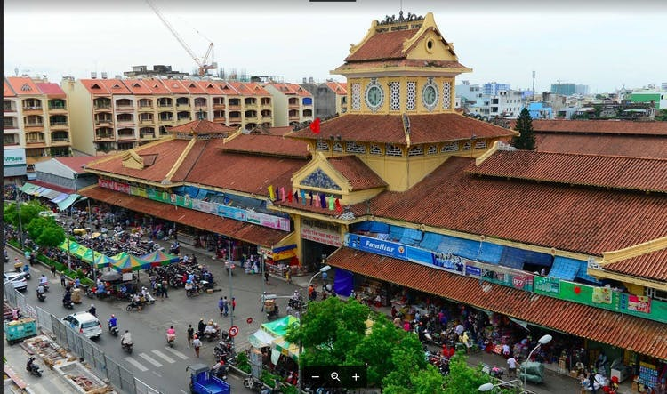 Ho Chi Minh City and China Town tour by cyclo