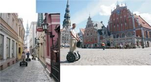 Segway Tour through Riga
